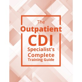 Outpatient CDI Training Guide